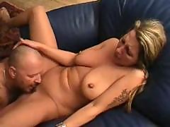 Blonde German Milf Eats Cock, Gets Licked, And Then Gets Drilled