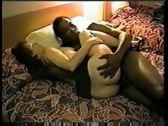 Wife in hotel room likes it big and black