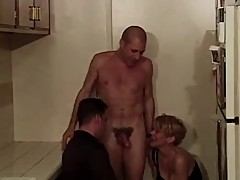Cuck his wife and the bi guy