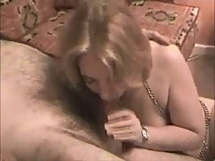 British MILF Slag Shagged on my Sofa as her Hubby Films