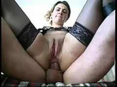 French milf anal fucked