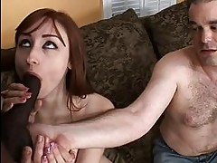 Violet Has No Use For Her Sissy Husband