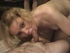 Sexy British Milf Enjoying A Gangbang 3
