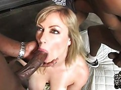 Cuckolding Adrianna eager for thug love
