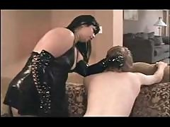 Brunette Plumper In Femdom Games Gets Her Boy To Do What She Wants