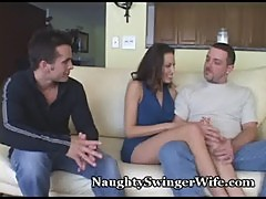 Hubby Is Jealous Of Wife's Orgasms