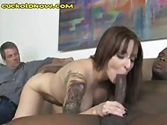 Cuckold Hubby Likes To Watch His Hot Redheaded Wife Get Drilled By A Bbc