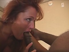 Black Stockings & Black Cock