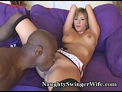 Huge black cock stuffs my horny wife