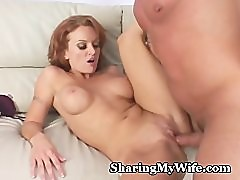 Redhead Seductress Pounds New Cock